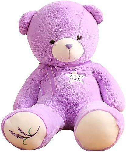 LAIBAERDAN Lila Lavendel B Plüschtier Teddyb Puppe Ragdoll Geburtstagsgeschenk Duft B mädchen