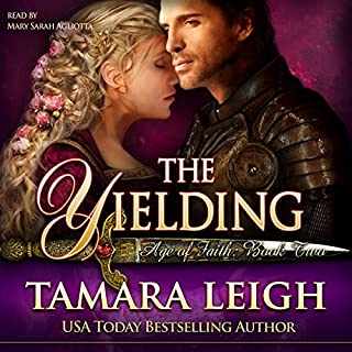 The Yielding audiobook cover art