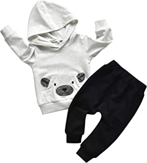 Toddler Infant Baby Boy Clothes Animal Style Long Sleeve...