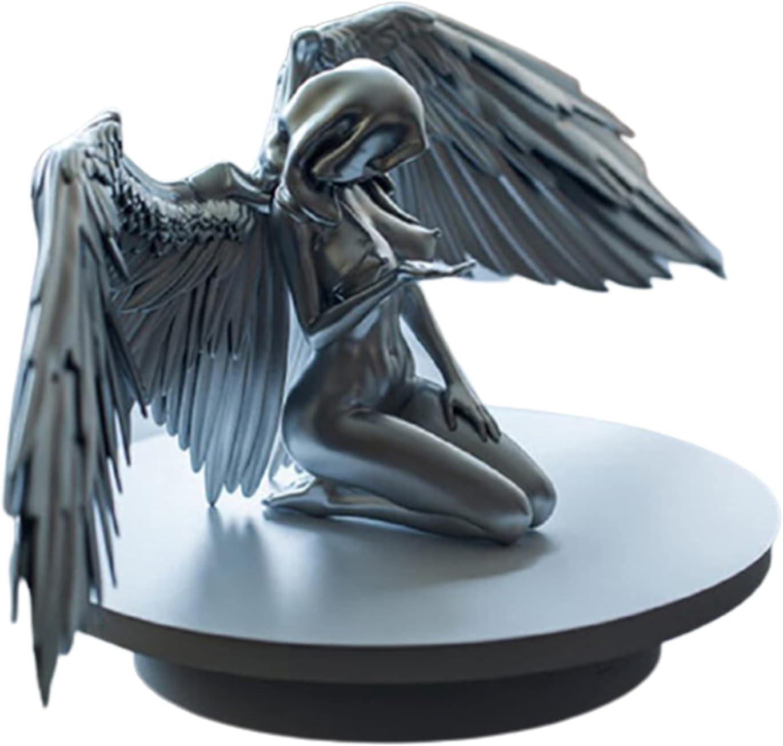 cheap Angel Fairy Figurine Art Female shopping Woman Wing Kneeling Cloa