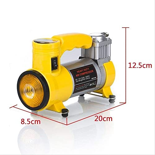 Sankirtan Air Compressor for Car and Bike 12V 150 PSI Tyre Inflator Air Pump for Motorbike, Cars, Bicycle, Football, ...