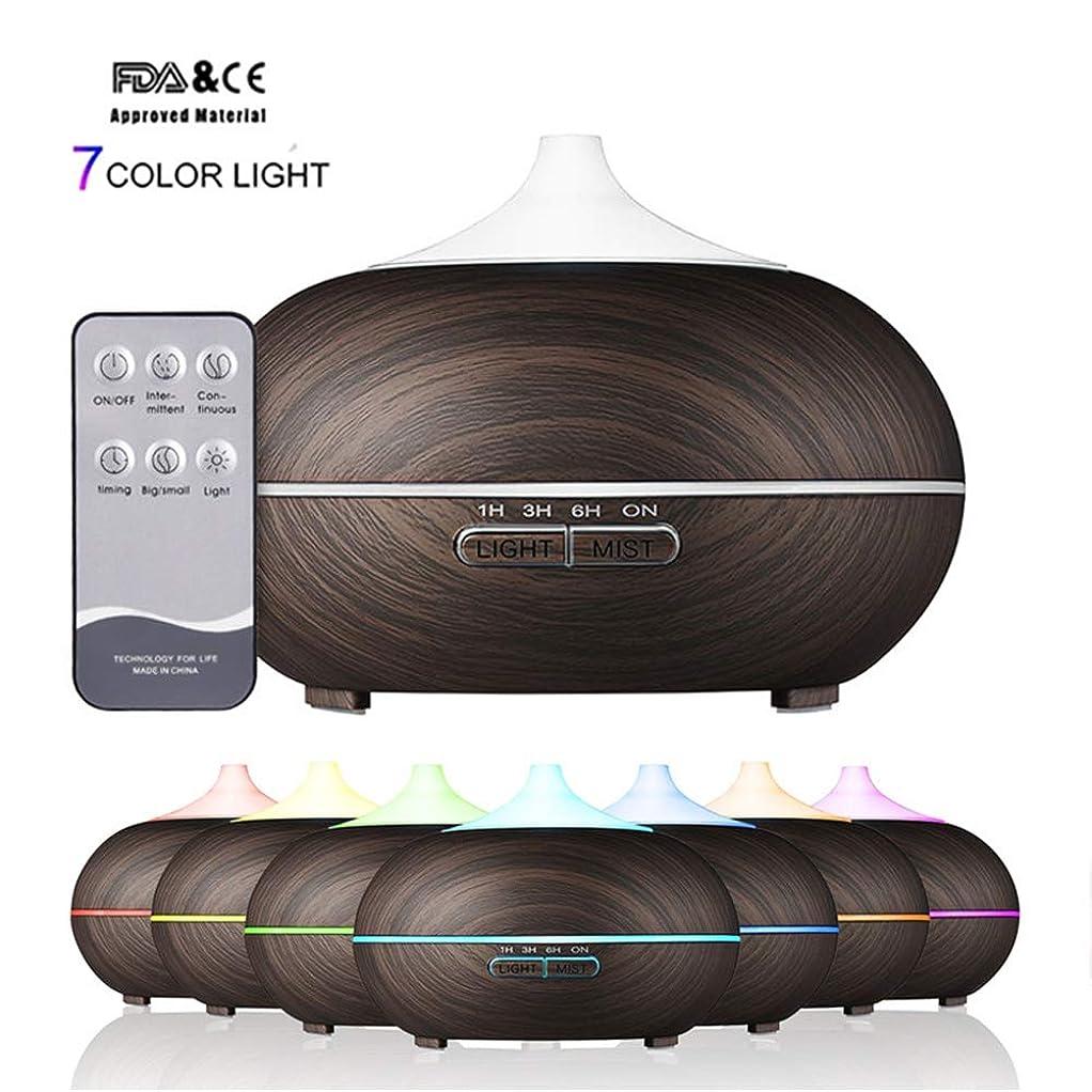 長くする想像するマザーランドLEDライトエッセンシャルアロマオイルディフューザーアロマ加湿器空気清浄機リモコン7色変更LEDライトオフィスホーム