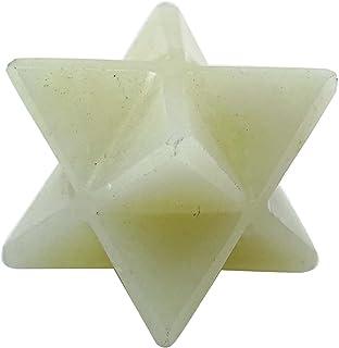 Harmonize Moonstone Merkaba Reiki Guérison Spirituelle Cristal Cadeau D'Équilibrage De L'Énergie Sacrée