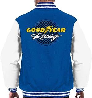 Goodyear Racing logo mäns universitetsjacka