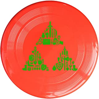 RCINC Zelda Triforce Items Boys Outdoor Game Frisbee Game Room Yellow