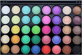 shamrock58 Popfeel 40 Colors Cosmetic Powder Eyeshadow Palette Makeup Set Matt Available Rich and Leading-The-Trend