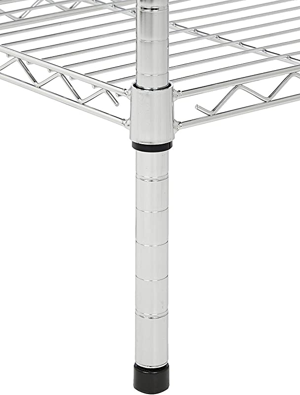 Commercial Chrome Wire Shelving Posts 18 4 Posts