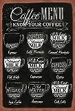 Schatzmix Cartel de Chapa de café