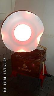 Lampada grammofono funzionante