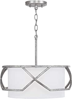 Capital Lighting Fixtures 232431AS Bryce Pendant Antique Silver