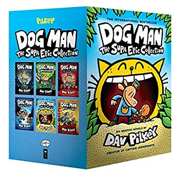 Dog Man  The Supa Epic Collection  From the Creator of Captain Underpants  Dog Man #1-6 Boxed Set
