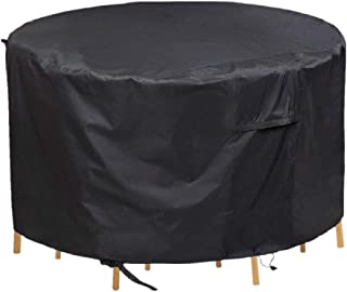 Chusstang Garden Furniture Covers Waterproof, Patio Furniture Table Covers Outdoor Round Table Cover Patio Furniture Cover...