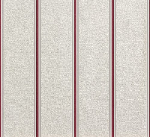 Vliestapete rot creme weiß Streifen Lets Classic Rasch 858938