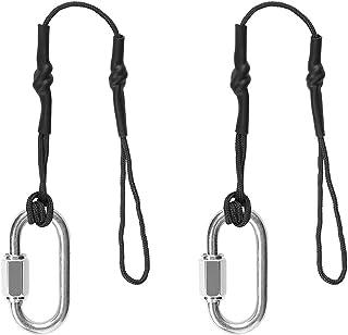 Anwenk Camera Safety Tether Strap para cámaras DSLR y sin espejo Professional Sling Camera Straps 2 unidades