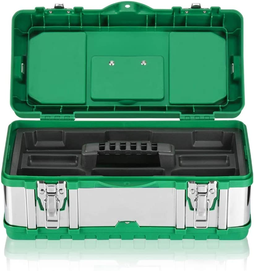Tool Box Portabl Stainless 2021 autumn and winter new Multi-function Portable Same day shipping Toolbox Steel