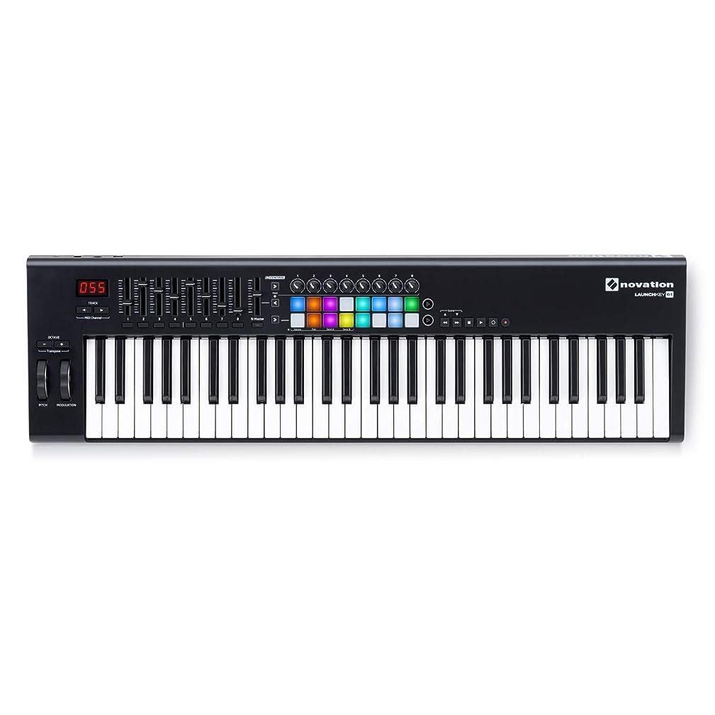 Novation Launchkey 61 MKII - USB MIDI Controller Keyboard 61 Keys