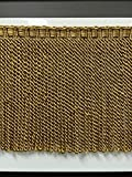 9' Fancy Header, Highiest Quality Bullion Fringe Trim BUF-9/12-17 (Antique Gold)