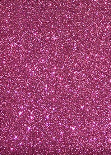 Neptun Glitzer-Folie pink DIN A4