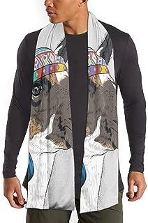 Bufandas étnicas con diseño de alpaca peruana, para mujeres, hombres, bodas, fiestas, novias, bufandas suaves y a la moda para todas las estaciones