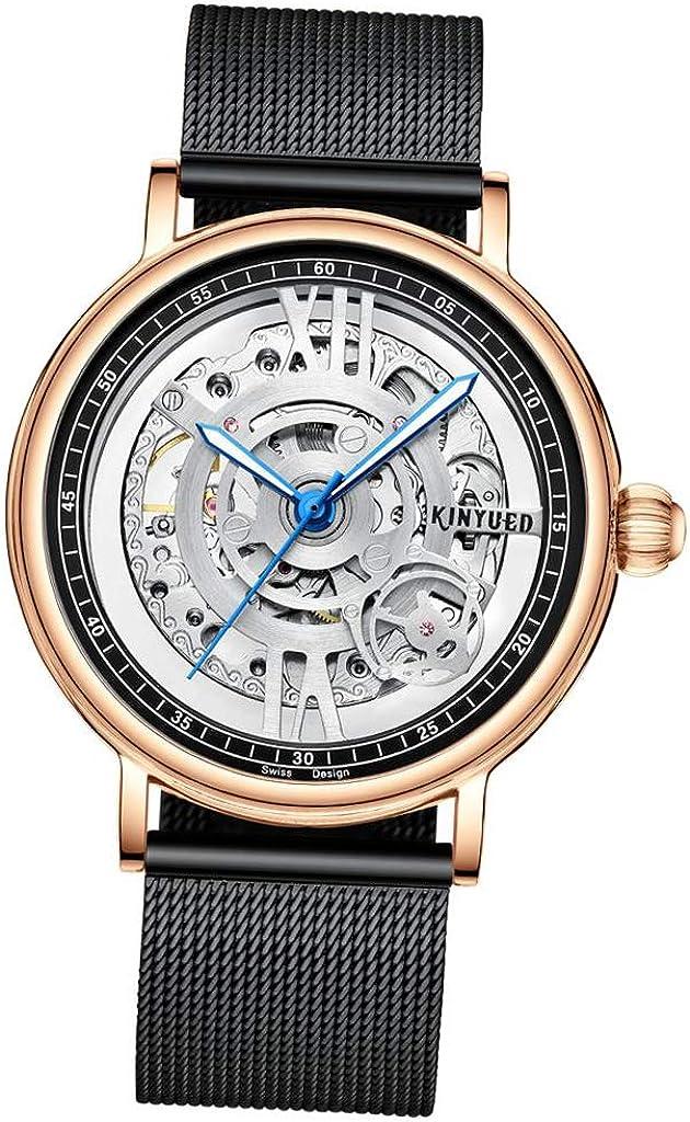 sharprepublic Reloj Mecánico Hombre Reloj De Pulsera Tourbillon