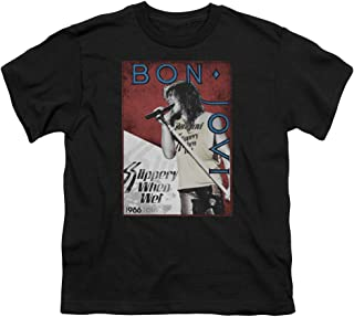 Bon Jovi 86 Tour Unisex Youth T Shirt for Boys and Girls