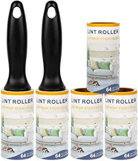 Eigenheim Lint Rollers Remover Clothes Roller -Ultra Sticky Sturdy Easily Peel Tape Lint Roller Refill Lint Rollers for Pet Hair on Clothes, Pants,Car Seats,Carpet,Leather Chair