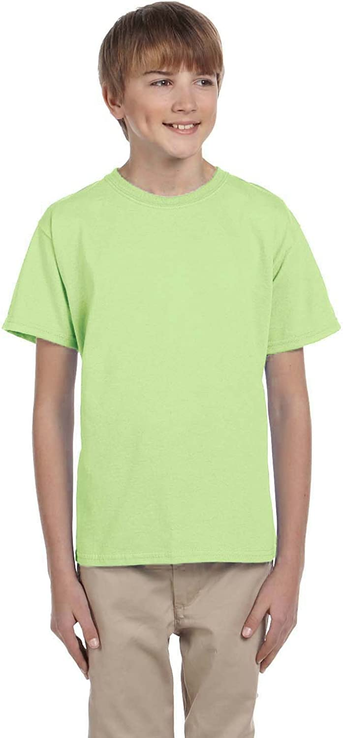 Product of Brand Gildan Youth Ultra Cotton 6 oz T-Shirt - Mint Green - XL - (Instant Savings of 5% & More)