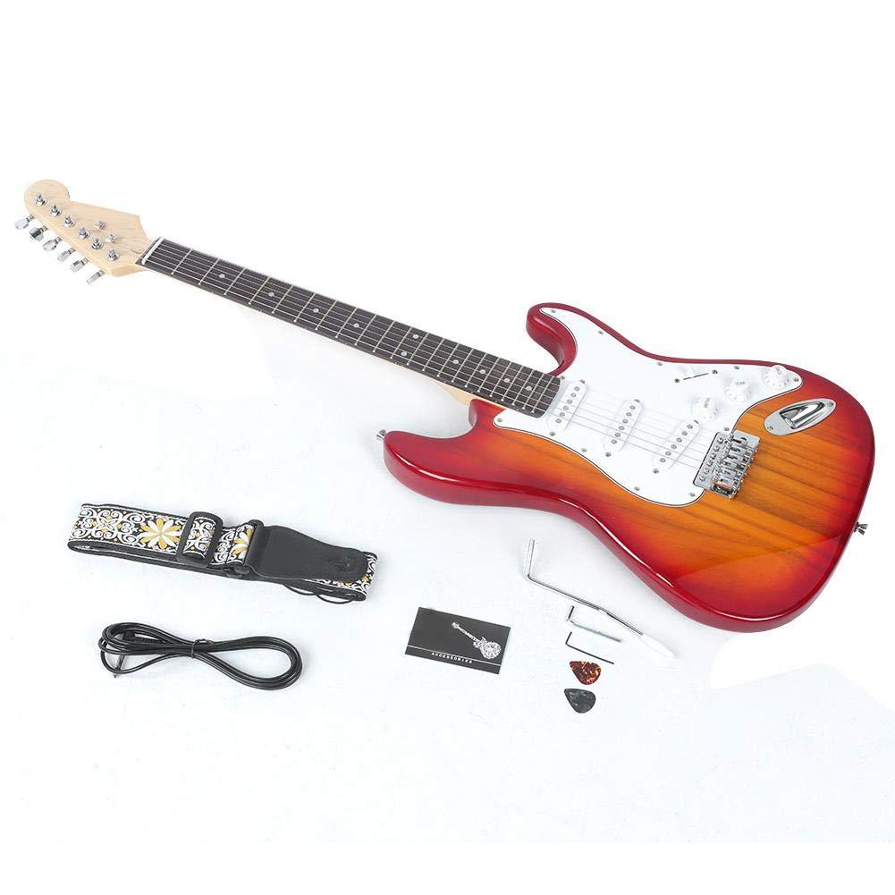 Neufday Diapasón de Palisandro, Guitarra eléctrica de Tilo ...