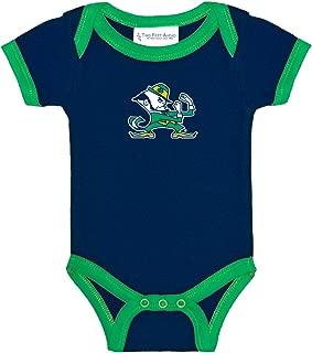 Notre Dame Fighting Irish Two Tone NCAA College Newborn Infant Baby Creeper
