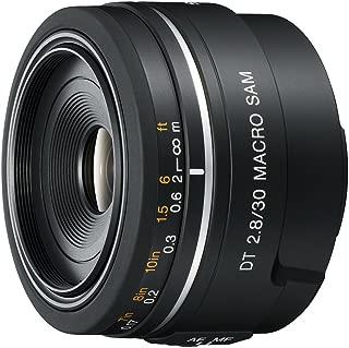 Sony SAL30M28 30mm f/2.8 Lens for Alpha Digital SLR Cameras