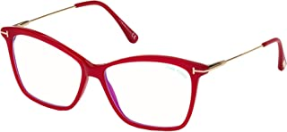 Tom Ford FT5687-B Blue-Light Block 075 56 New Women Eyeglasses