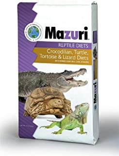 Mazuri | Nutritionally Complete Low-Starch Food for Small Herbivorious Reptiles | 25 Pound (25 lb) Bag