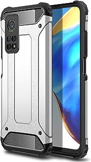 جراب FanTing لهاتف Xiaomi Mi 10T Pro 5G، [مقاوم للصدمات] [شديد التحمل] [مدرع قوي] جراب مدرع مزدوج الطبقات قوي وعرة وعرة وو...