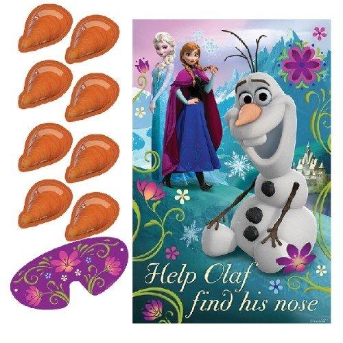 Neusprik-spel met Olaf uit Disney's De ijskoningin
