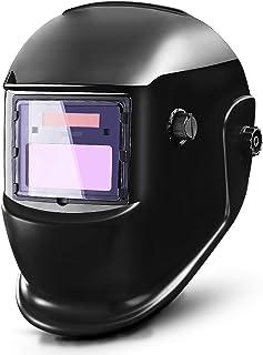 DEKOPRO Auto Darkening Solar Welding Helmet ARC TIG MIG Weld Welder Lens Grinding Mask..