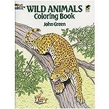 Wild Animals Coloring Book (Dove...