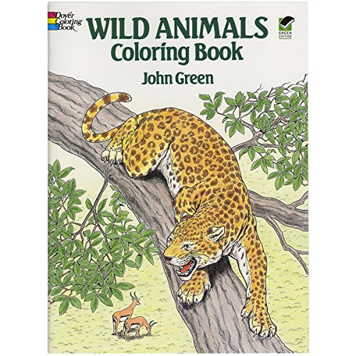 Wild Animals Coloring Book (Dover Nature Coloring Book)