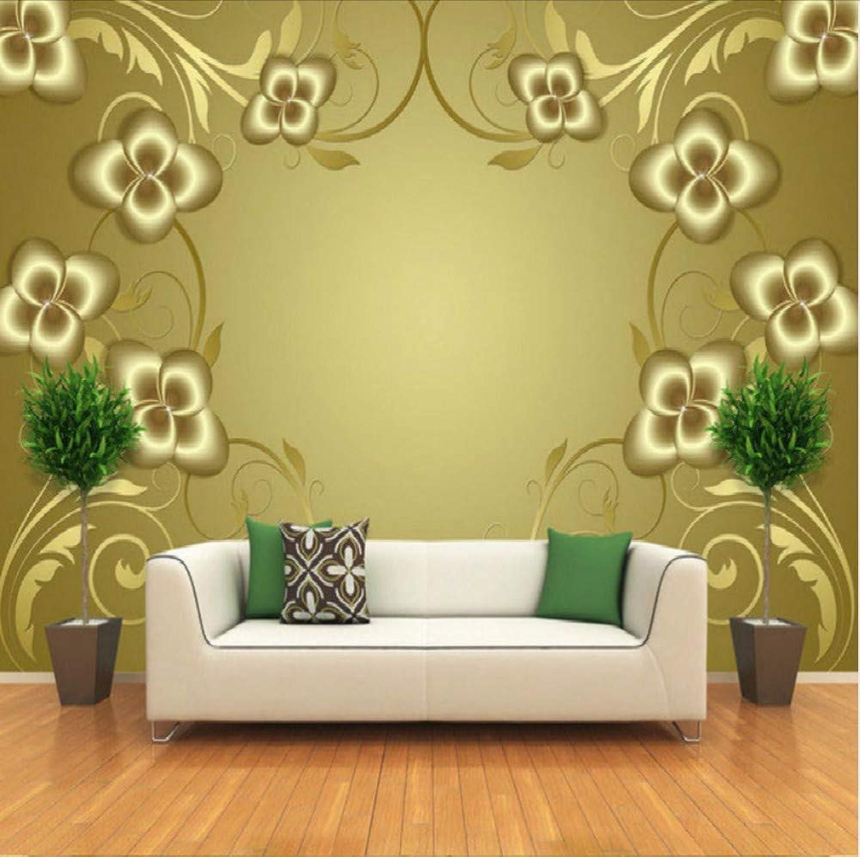 Envío y cambio gratis. Dalxsh Patrón De oro En Relieve Papel Papel Papel Tapiz 3D Mural Grande Papel Pintado En La Parojo Sala De Estar Dormitorio Tv Telón De Fondo Estereoscópico Papel Tapiz 3D-200X140Cm  barato y de alta calidad