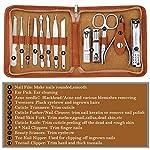 Beauty Shopping FAMILIFE F03 Manicure Set, Pedicure Kit Nail Clipper Set 13pcs