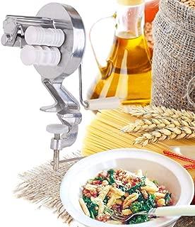 RRH Press Pasta Machine Hand Crank Cavatelli Maker Gnochetti Makers for Authentic Spaghetti Fettuccine Noodle