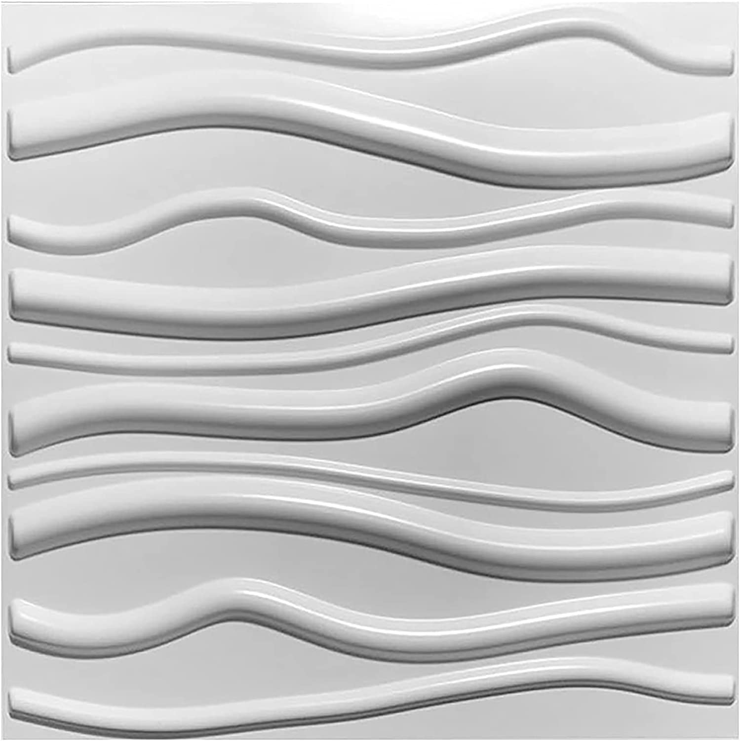 HOLSKEAT PVC 3D Limited Special Price Wall Panels Cheap sale Geometric Pattern of Ti Pack 12 Mate