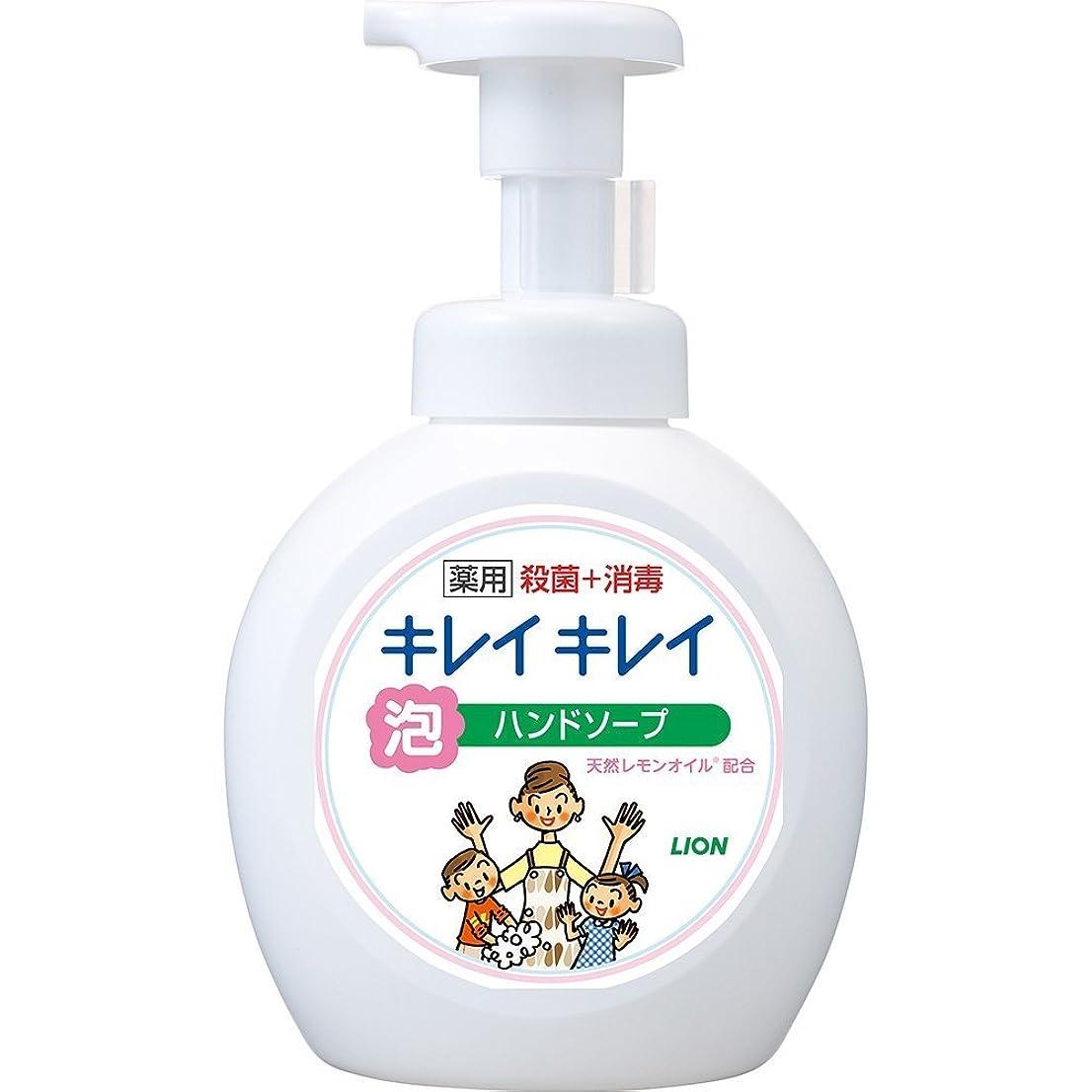 花束フェミニン白いキレイキレイ 薬用 泡ハンドソープ シトラスフルーティの香り 本体ポンプ 大型サイズ 500ml(医薬部外品)