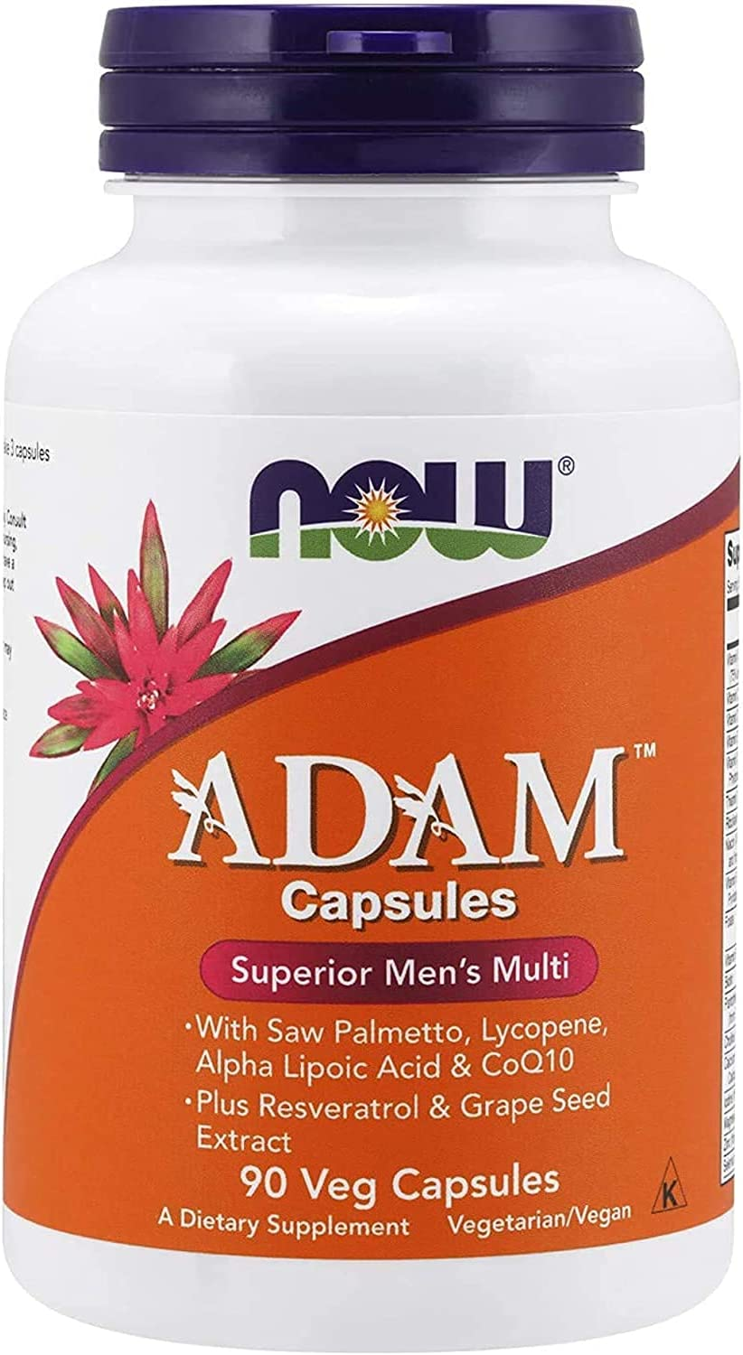 ADAM Max 68% OFF Sales of SALE items from new works Men's Multivitamin with Saw Palmetto Alpha Lycopene Lipoi