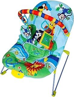 Cadeira de Descanso Musical e Vibratória Soft Ballagio Color Baby Azul