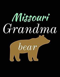 Missouri Grandma Bear: Bear Journal Notebook to Write in