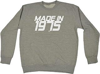 Funny Novelty Funny Sweatshirt - 1975 Seventy Five Seventies Made in - Sweater Jumper