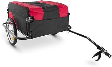 Oneconcept DURAMAXX Mountee - Remolque para Bicicletas, Desmontable, Capacidad 130 litros, Carga 60 kg, Bastidor Acero, Neumáticos 16