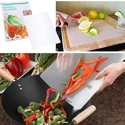"VIP Gourmet Chopping Cutting Board Flexible Mats Protects Countertops for Chopping 12"" x 15"" - 4pc"