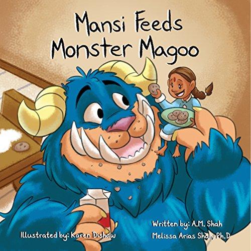 Mansi Feeds Monster Magoo audiobook cover art