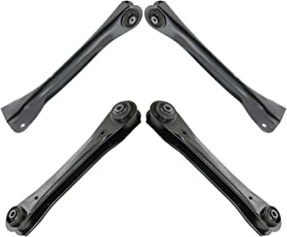 Front Lower & Upper Control Arm Set Kit for Jeep Cherokee Comanche Wagoneer